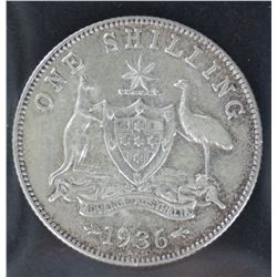 Shillings 1934, 1935 and 1936