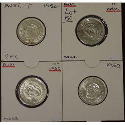 Lot of Australian Shillings