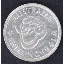 1941 Shilling Choice Uncirculated
