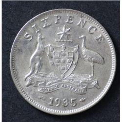 1935 Sixpence