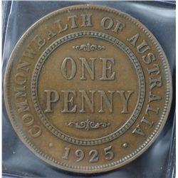 1925 Pennies