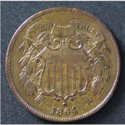 USA 5 Cent 1831 and 1864 2 Cent
