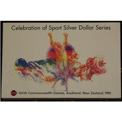 1990 New Zealand Silver Dollar Series