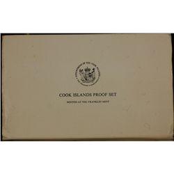 British Virgin Islands Proof Set in silver 1977 and Cook islands Proof Set 1976