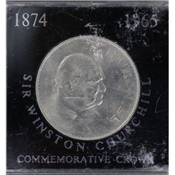 1965 Churchill Crowns as issued