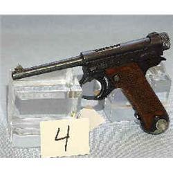 1 NAGOYA SEMI AUTOMATIC 8MM 60636 MODEL 14, OCT. 1944...