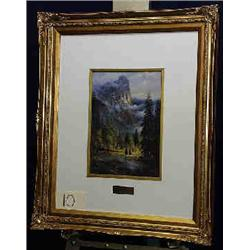 """1 PRINT-G. HARVEY """"IN THE LAND EAGLES"""" OPEN EDITION X 10""""..."""