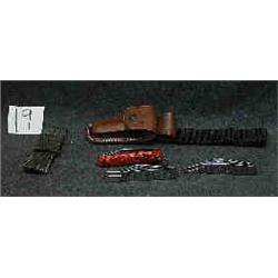 3 KNIVES-CAMILLUS: SWITCH BLADE CAMP KNIVES-ALL W/SHEATHS...