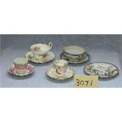 1 BOX OF MISC. CUPS AND SAUCERS...