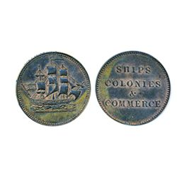 Breton-997. PE10-27. Lees-27. Ships, Colonies & Commerce. ICCS AU-55. 10% lustre remaining.