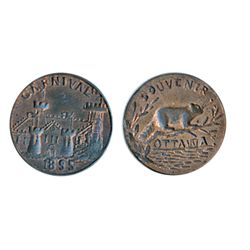 Thomas Church Token. Bow. 15-49. Copper. Plain edge. Thin. 6.6 gms. Unc. 60% lustre.