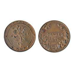 Thomas Church Token. Bow. 41-43. Copper. Plain edge. Medium thick. 10.4 gms. Unc. 50% lustre.