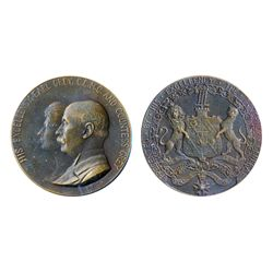 GOVERNOR GENERAL OF CANADA. The Earl Gray. (1904- 1911). 51mm. Clowery-109. Bronze. AU.