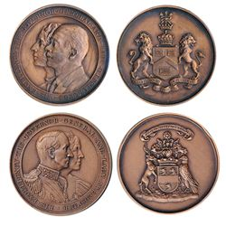 GOVERNOR GENERAL OF CANADA. The Earl of Bessborough. (1931-1935). 51mm. Clowery-114. Bronze. AU. Lor