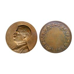 LIEUTENANT-GOVERNOR OF CANADA. Quebec. A.R. Angers. (1887-1892). Clowery-3. Bronze. 50mm. AU.