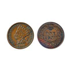 Lincoln Cent. 1909-S. Very Fine-20.