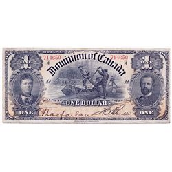 $1.00. March 31, 1898. DC-13c. No. 714650/A. Boville. PMG graded Very Fine-25.