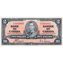 $2.00. 1937 Issue. BC-22c. No. K/R3949995. AU.