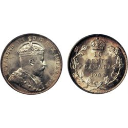 1902-H. Both ICCS and PCGS graded Mint State-66. A superb gem. Great brilliance and lustre. Great st