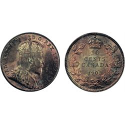 1903-H. Both ICCS and PCGS graded Mint State-66. Lovely medium heavy, multi-hued toning over satiny