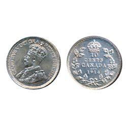 1914. ICCS Mint State-62.