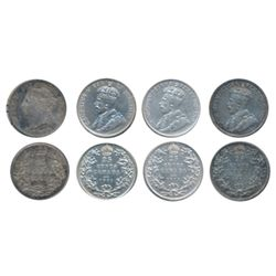 1892, 1911, 1913, 1914. All four (4) coins are ICCS Extra Fine-40.