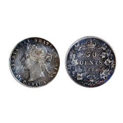 1872-H. A/V variety. ICCS Very Fine-20.