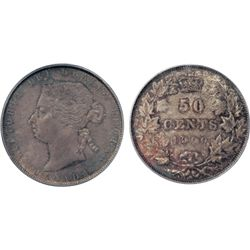 1900. PCGS graded Mint State-64. Original, even medium heavy toning over near perfect cheek and fiel