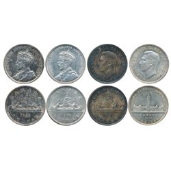 1935. ICCS Mint State-63. Obv. 003. Light toning; 1935. ICCS Mint State-62. Medium tone; 1937. ICCS