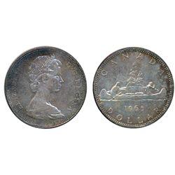 1965. Type V. ICCS Mint State-65. A rare Gem.