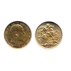 Sovereign. 1910-C. NGV graded Mint State-61. Brilliant golden lustre.