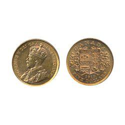 $5.00 Gold. 1913. AU-50. Brilliant orange-yellow lustre.