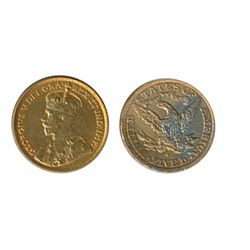 $5.00 Gold. 1913. Very Fine-20. ALSO. U.S. $5.00 Gold. Liberty type. 1903-S. Damaged reverse. Lot of