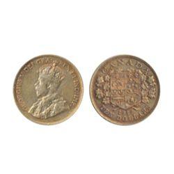 $10.00 Gold. 1912. Very Fine-30. Light toning. Orange hue.