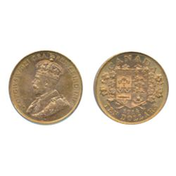 $10.00 Gold. 1914. Both PCGS and ICCS Mint State-62.