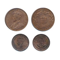 1920. ICCS Mint State-60. Cleaned. 40% artif. Lustre; 1941-C. ICCS Mint State-60. Cleaned. Lot of tw
