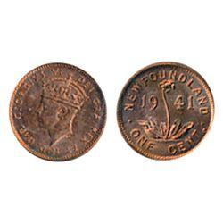 1941-C. ICCS Mint State-64. Red. 90% original lustre.