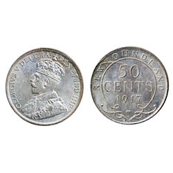 1917-C. ICCS Mint State-65. A Gem with a trace of light toning.