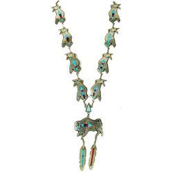 Zuni Inlay Necklace