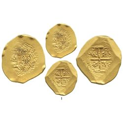 Mexico City, Mexico, cob 8 escudos, (1711-12J), from the 1715 Fleet, ex-Christie's (Plate Coin).
