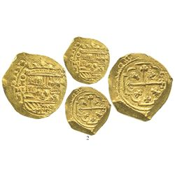 Mexico City, Mexico, cob 8 escudos, 1713J, from the 1715 Fleet.