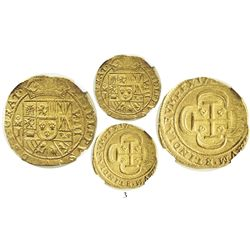 Mexico City, Mexico, cob 8 escudos, 1714J, date on reverse, GRAT in legend on obverse, encapsulated