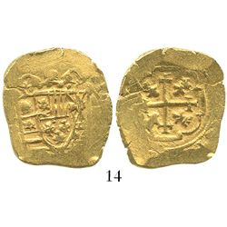 Mexico City, Mexico, cob 4 escudos, (1711-13)(J), from the 1715 Fleet.