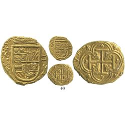 Cartagena, Colombia, cob 2 escudos, (1630-5)E, with backwards E (assayer) below mintmark C to left,