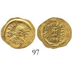 Byzantine Empire, AV tremisis, Heraclius, 610-641 AD, Constantinople mint.