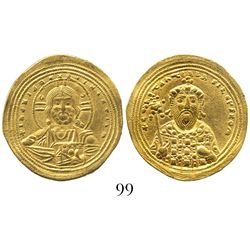 Byzantine Empire, AV histamenon nomisma, Constantine VIII, 1025-28 AD, Constantinople mint.