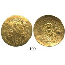 Byzantine Empire, AV histamenon nomisma (scyphate), Constantine IX, 1042-55 AD, Constantinople mint.