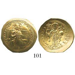 Byzantine Empire, AV histamenon nomisma (scyphate), Constantine X, 1059-67 AD, Constantinople mint.