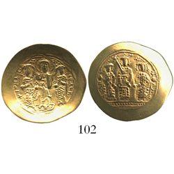 Byzantine Empire, AV histamenon nomisma (scyphate), Romanus IV, 1067-1071 AD, Constantinople mint.