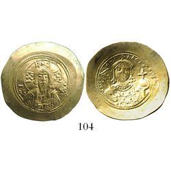 Byzantine Empire, AV histamenon nomisma (scyphate), Michael VII, 1071-78 AD, Constantinople mint.